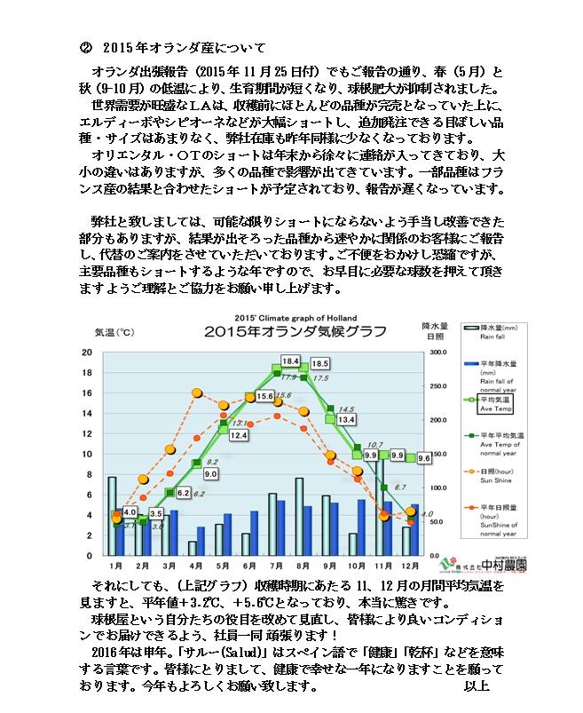 情勢報告(2016/1/12)