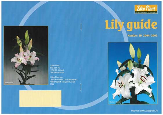 ZABO社 リリーガイド №10 2004~2005年版発刊(2004/11/11)