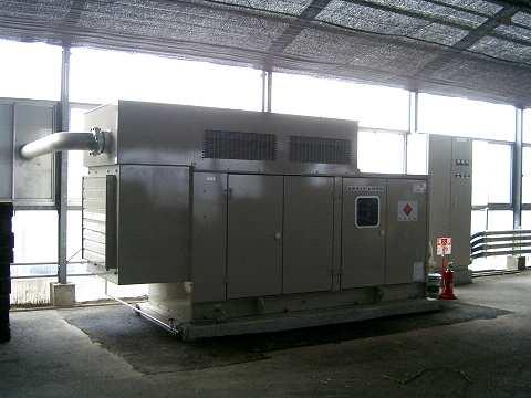 自家発電装置設置(2005/9/22)