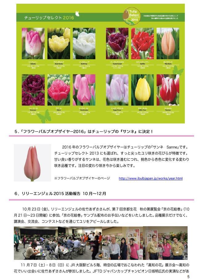 アイバルブ・ジャパン ニューズレター 2015年冬号(2015/12/10)