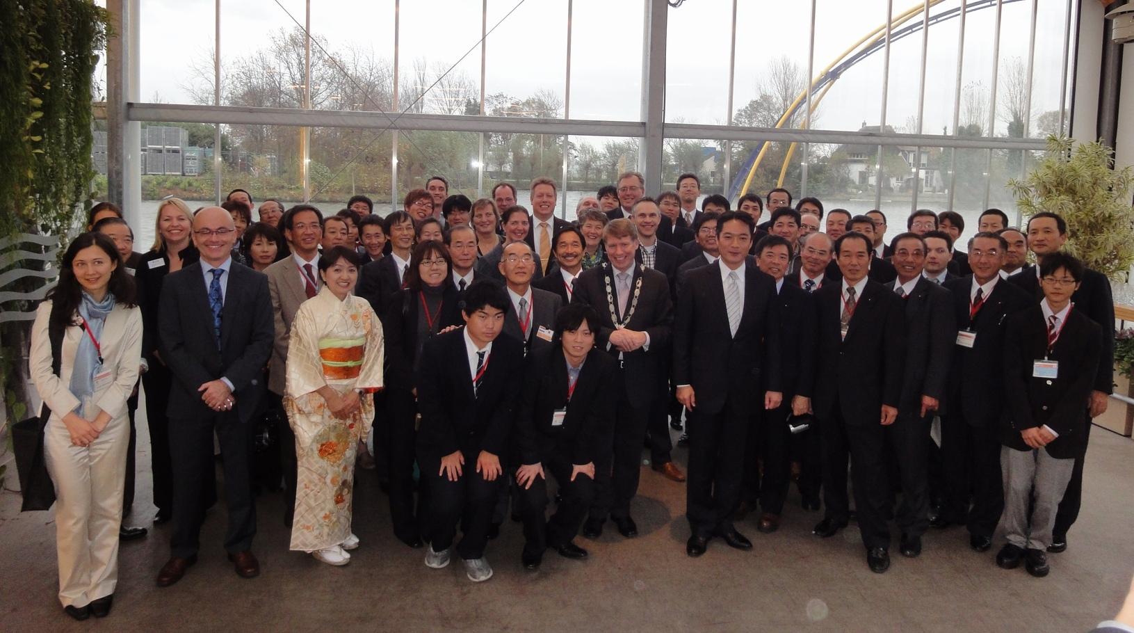 高知県とオランダ・ウェストラント市 友好園芸農業協定調印(2009/12/2)