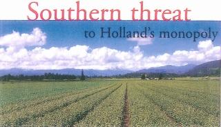 オランダ産球根に迫る南半球産の脅威(2008/02/14)