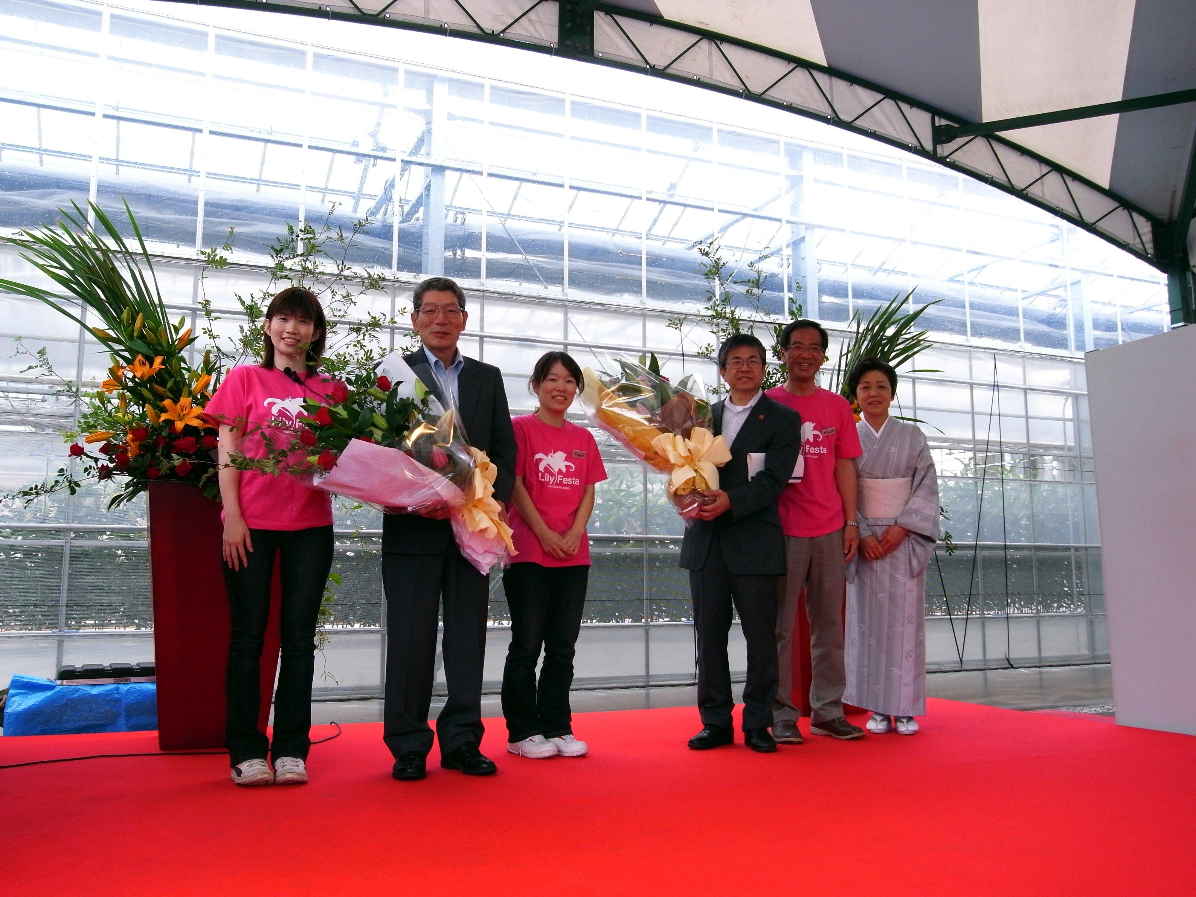 「第3回ゆりフェスタ2009 in 中村農園」2日目(2009/6/5)