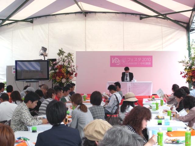 ゆりフェスタ6日目、180名の方々にご来場いただきました。(6日間累計2074名様)(2010/6/9)