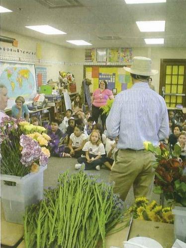 Flower Power for Kids    子供たちへの花教育(2007/10/15)